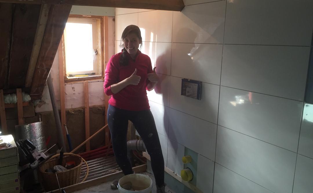 Tips Badkamer Verbouwen : Zelf de badkamer verbouwen in stappen u go gracy diy en